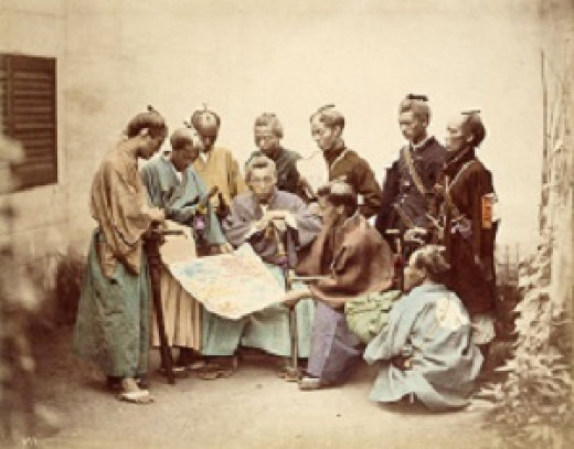 Samurai during Boshin War period (1867)