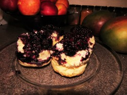 Sweet Blackberry Cobblers