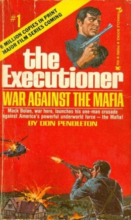 "A 1970s edition of ""Executioner"" #1 promises a ""MAJOR FILM SERIES COMING!"" -- well, hey, better late than never."