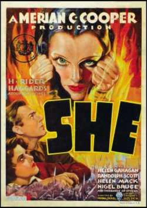 She, adventure movie