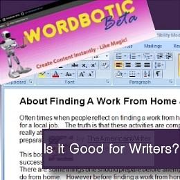 WordBotic: Is it good for writers?