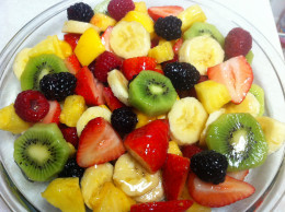 A fruit salad can be created with whatever fruit you want, there is no limit:)