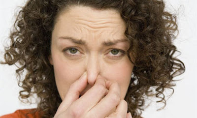 if you smell bad odors, you can bet germs are there too