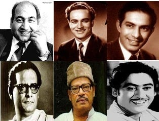 Some of the architects of the golden era of Indian and Bengali music