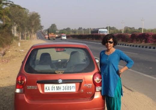 Beautiful Highway To Tumkur From Bangalore