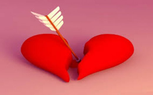 Cheating causes broken hearts