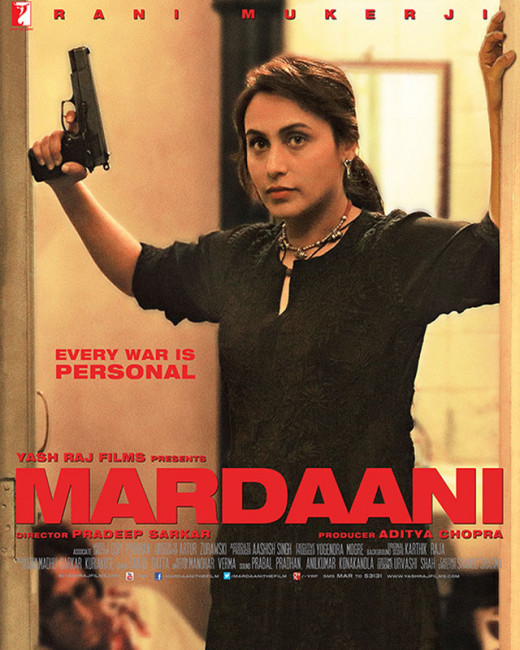 Read here the latest indian movie reviews:our exclusive film review of the latest bollywood film,Mardaani, starring Rani Mukerji.