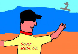 Lifesavers and lifeguards are the heroes of our beaches.