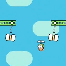 Swing Copters Swinging Hammers