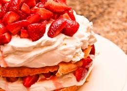 Slice of Strawberry Shortcake