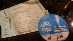 Meeting Tori Amos - The Unrepentant Gereldines Tour 2014