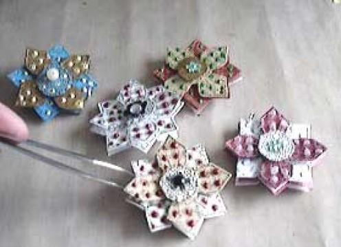 Embossed Snowflakes
