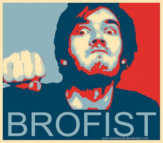 """BROFIST"" quote by PewDiePie (No.1 YouTuber)"