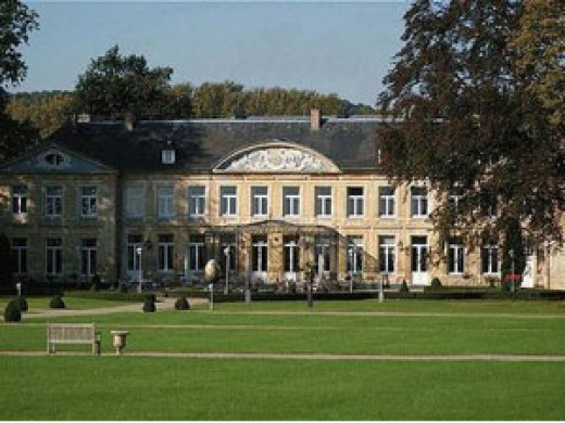 Front View Of Chateau St. Gerlach - One Of The Most Romantic Dining Spots In The Netherlands