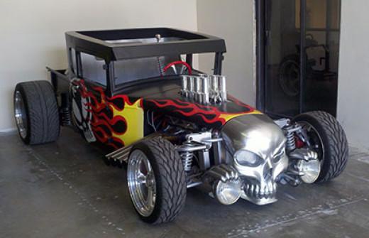 The Bone Shaker at Paul Clarke Motorsports