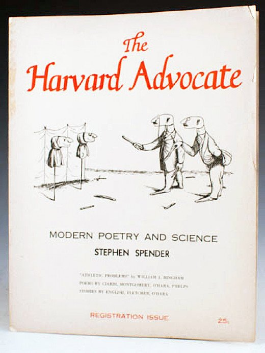 The Harvard Advocate was one the first  magazines to take the leap into online publication in the late 20th century.