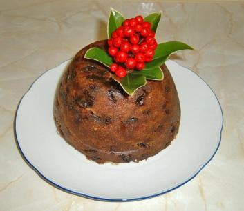 A spécial Christmas pudding