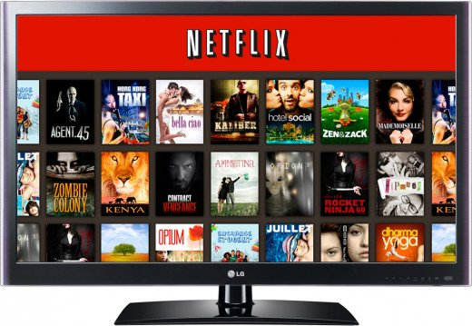 Netflix Instant library- thousands of films and TV series available to stream instantly - Part 3