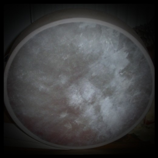 Old Man, the drum I use for shamanic healing work