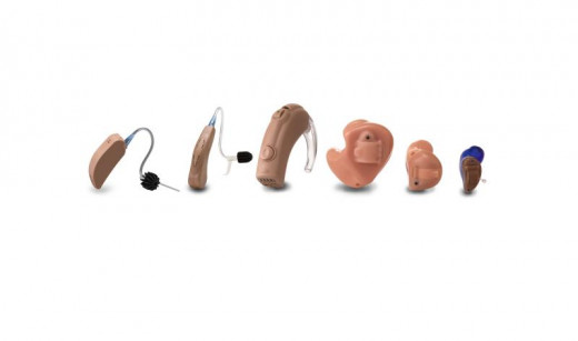 Your hearing aid might look like one of these