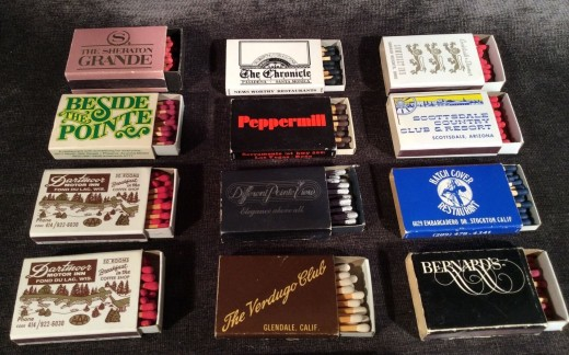 Back in the good old days of the 1950s and 1960s you could pick up a matchbook or Match Boxes from the counter practically every nightclub, cafe, hotel, restaurant, airport, train station, Department Store, or even a hardware or specially store.