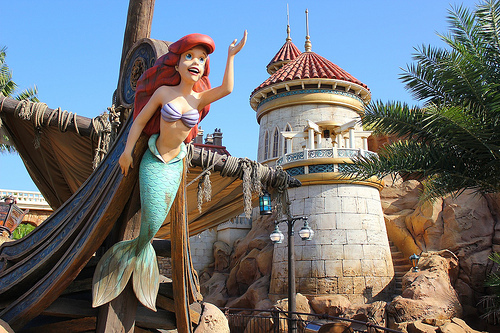 Under the Sea - Journey of the Little Mermaid in Magic Kingdom. Join Ariel and her aquatic pals in the ride that brings the animated classic to life before your very eyes.
