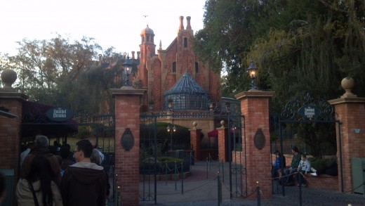 The Haunted Mansion at Magic Kingdom. Step inside this ghost haven and observe the spirits in their afterlife. Beware of hitchhikers!