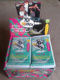 Yo! MTV Raps - The Complete Set of 150 ProSet MusiCards from 1991 and VIDEO!