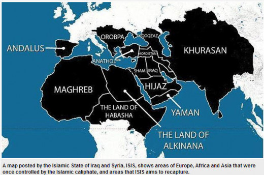 ISIS plans to conquer