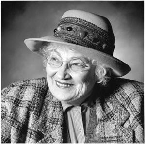 Bella Abzug (1920-1998), human right activist and USA congress women