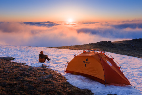 All you need is a tent!