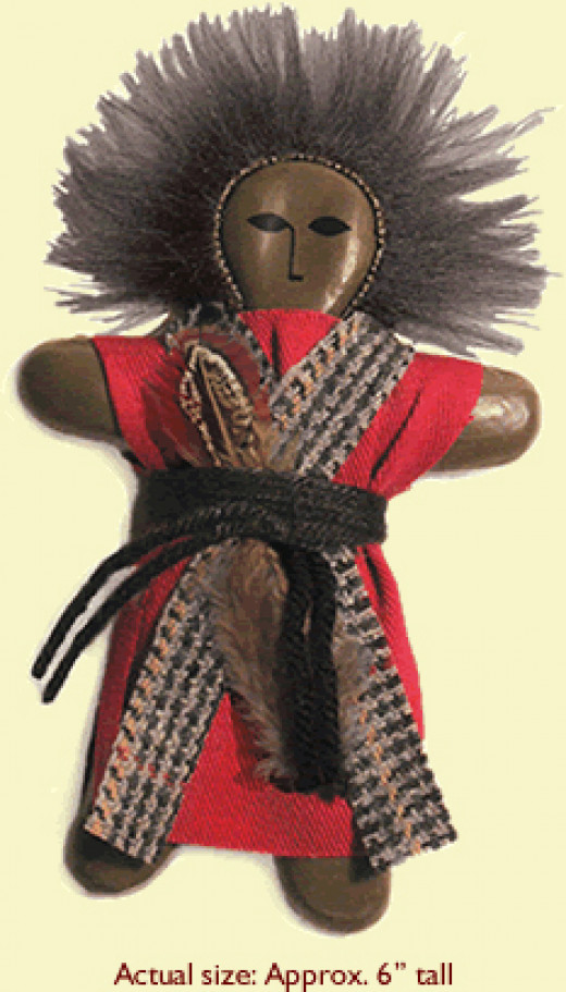 (above) Love Wanga Doll