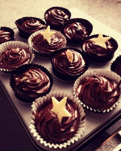 Scrumptious chocolate cupcakes