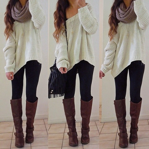 Oversize clothing done just right.
