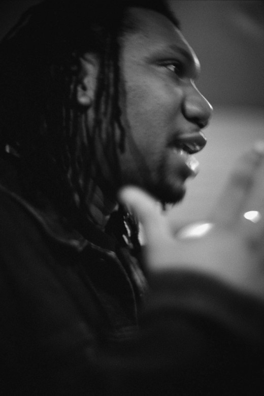 KRS-ONE, one of the early and longest-lasting conscious rappers.