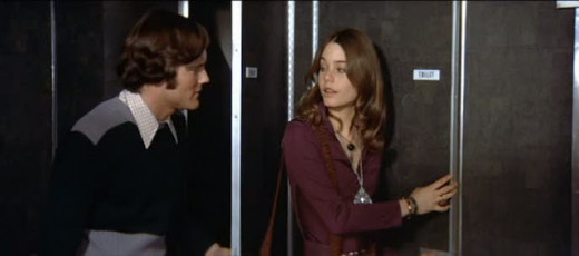 Are Nicholas Hammond and Susan Dey about to join the Mile High Club?