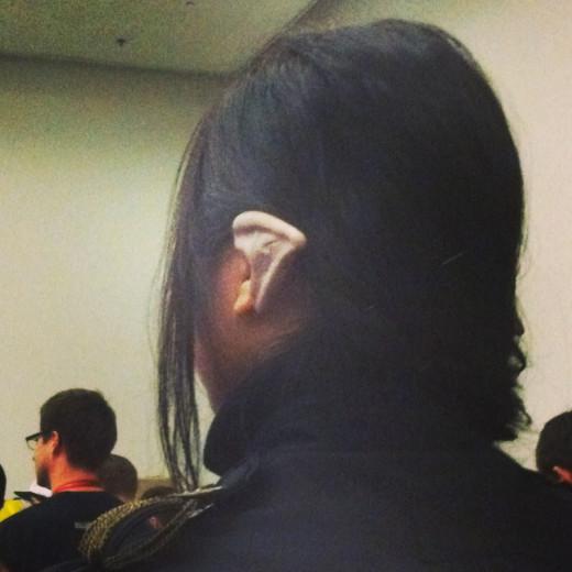 A random ear from Comic Con.