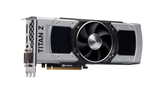 Another look of the Geforce GTX Titan Z