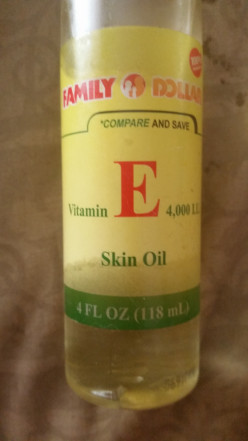 Vitamin oils and your skin             (Vitamin E )