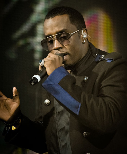 "Sean ""P. Diddy"" Combs performing in December 2010"