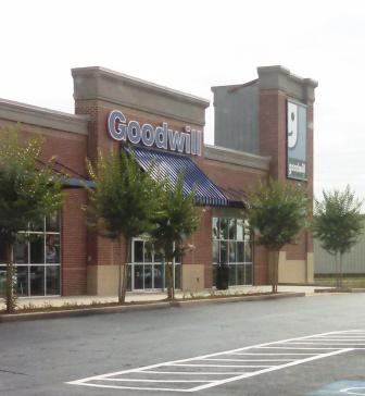 My neighborhood Goodwill. A great place to find great bargain