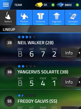 Tap Sports Baseball Management