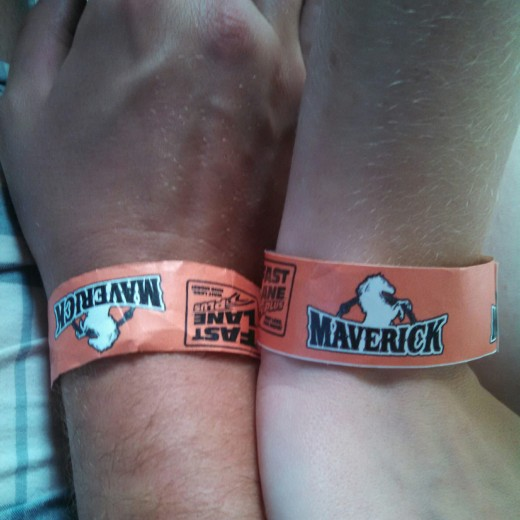 At the end of our visit to Cedar Point, a family gave us their Fast Pass wristbands. We had already been on most the rides, but it was icing on the cake and helped us skip the long lines.