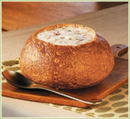 Chipped Beef Bread Bowl