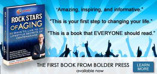"""Rock Stars of Aging,"" an inspirational book for people of any age."