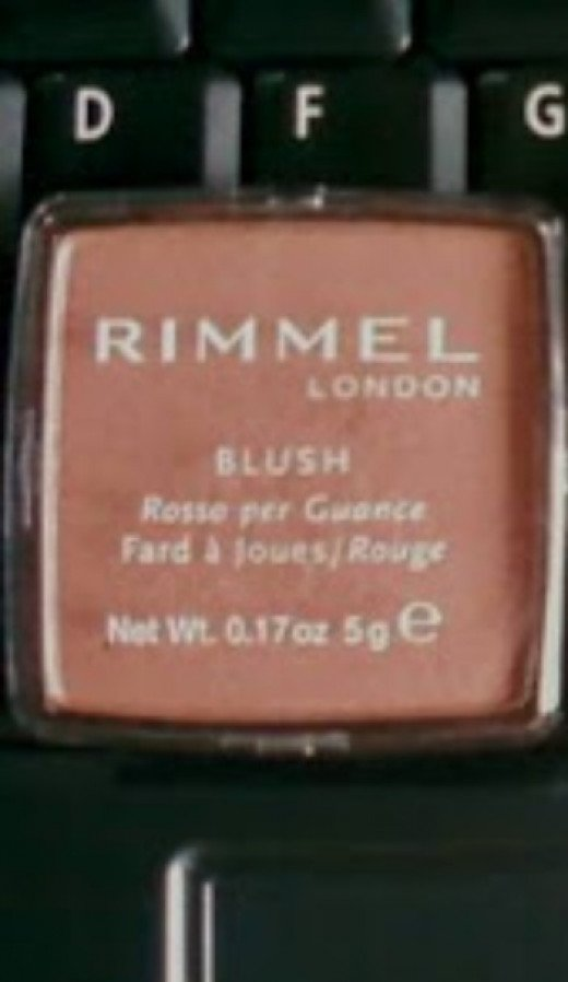 A fixed blusher