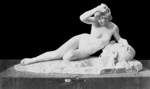 Just André François Becquet (1829-1907) - La Seine à sa Source. Courtesy of ketrin1407 Flickr user