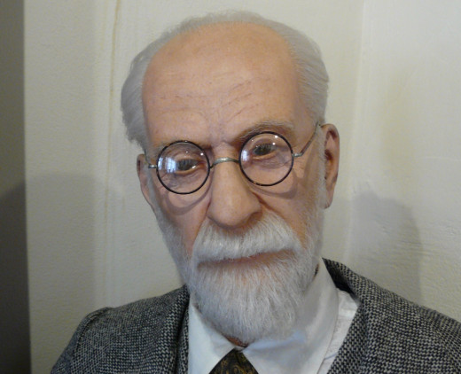 A picture of Sigmund Freud