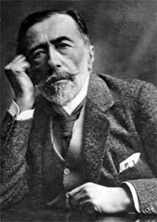 Author Joseph Conrad stated in a letter that writing this book was a reflection on the confusion of what humanity truly wants.