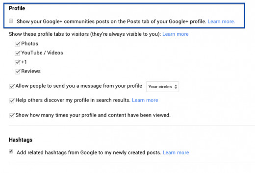 Want to Show off your Community Shares? But be aware of duplicate posts on your Profile's Posts Tab